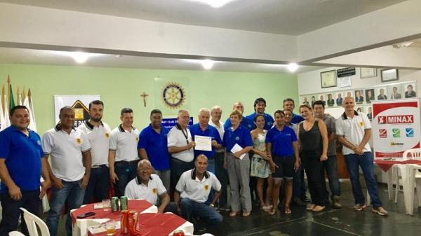 HOMENAGEM DO ROTARY CLUBE DE ARAXÁ SUL