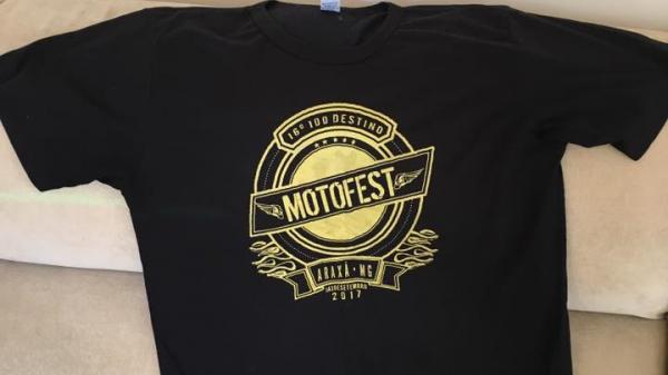 CAMISETA 16º 100 Destino Motofest 2017